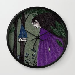 There is a Place in the Woods... Wall Clock