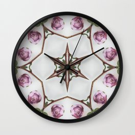 garden star goddess Wall Clock