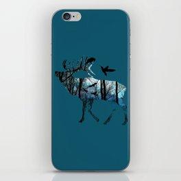 Forest Spirit - Blues iPhone Skin