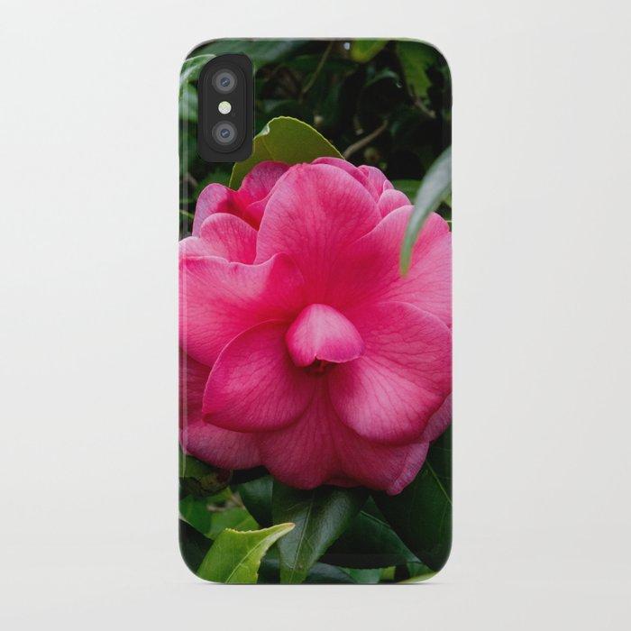 Camellia Bloom iPhone Case