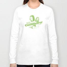 Cauliflower | Green Long Sleeve T-shirt