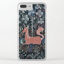 unicorn in captivity. Clear iPhone Case