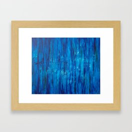 Edge of the Earth Framed Art Print