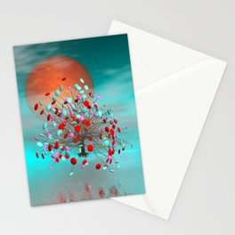 little candy tree -1- Stationery Cards