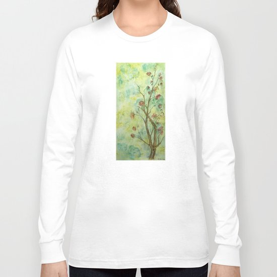 Branch with flowers Long Sleeve T-shirt