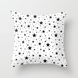 Full Stars bstract Pattern Throw Pillow