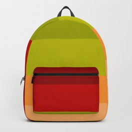Warm Bright Autumn Leaves - Color Therapy Backpack