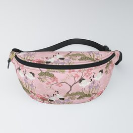 Japanese Garden in Pink Fanny Pack