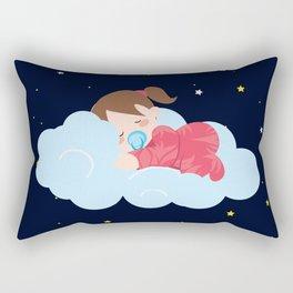 Stars at Night , nursery decor Rectangular Pillow