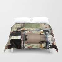 picasso Duvet Covers featuring Everyday Picasso by Robin Curtiss