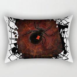 Black Widow (Signature Design) Rectangular Pillow