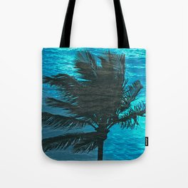 SWIMMING PALM Tote Bag