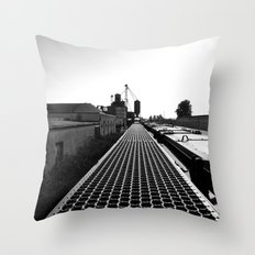 South Tacoma scenery Throw Pillow