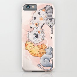 Cats Playtime iPhone Case