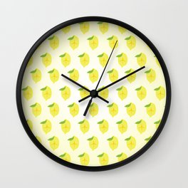 The Main Squeeze Wall Clock