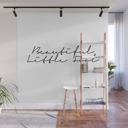 beautiful little fool Wall Mural