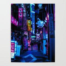 Tokyo's Blade Runner Vibes Poster