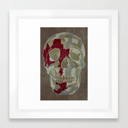 Road Map to Hell Framed Art Print