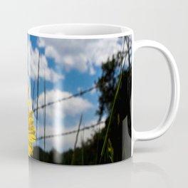 A Rocky Mountain Sunflower Coffee Mug