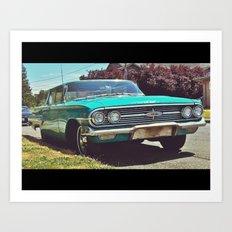 1960 Chevrolet Impala Art Print