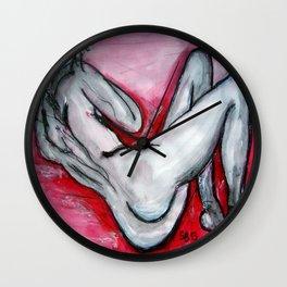 RedLady Wall Clock