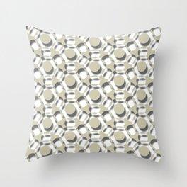 Modern Times 2.0 Pattern - Design No. 6 Throw Pillow