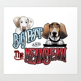 Big Poot Art Print