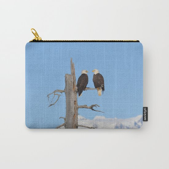 Perched With A View Duo Carry-All Pouch