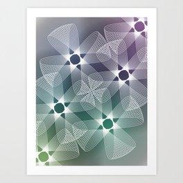 Ah Um Design #016a Art Print