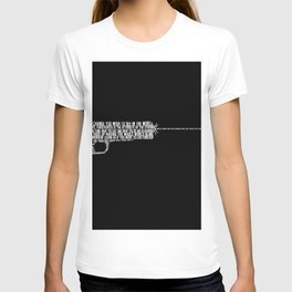 WORDS ARE LOUDER THAN ACTIONS T-shirt