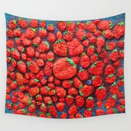strawberry heaven Wall Tapestry