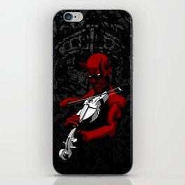 Devil's Trill iPhone Skin