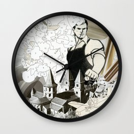 Ste. Foy Conques Wall Clock