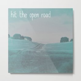 The Open Road Metal Print