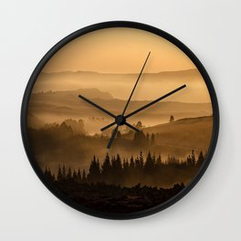 Land ESCAPE Wall Clock