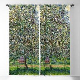 """Claude Monet """"Le Pommier"""" Blackout Curtain"""