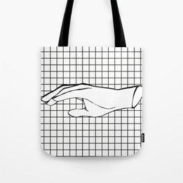 Human Hand Tote Bag