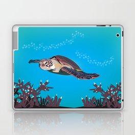 Green Sea Turtle Laptop & iPad Skin