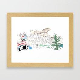 'CANADA' PART 4 OF 10* Framed Art Print