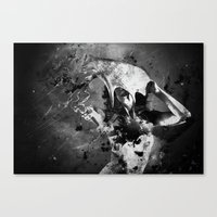 antler Canvas Prints featuring Antler by Alice Ferox