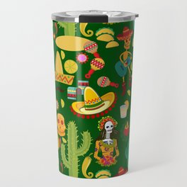 Fiesta Time! Mexican Icons Travel Mug