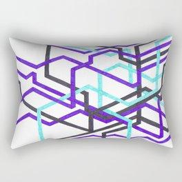 Needlessly Confusing Subways Rectangular Pillow