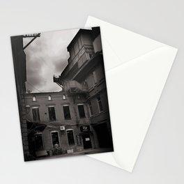 alone, empty, dark Stationery Cards