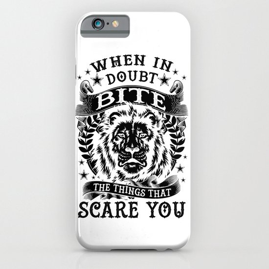 When in doubt... Bite. iPhone & iPod Case