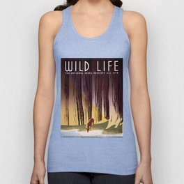 Wild Life - National Parks Preserve All Life Unisex Tank Top