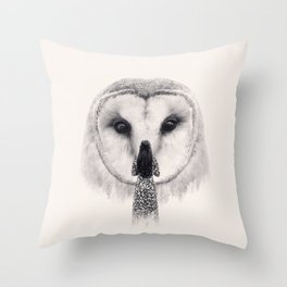 My Nocturnal Friend Throw Pillow