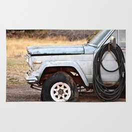 The Old Truck Rug