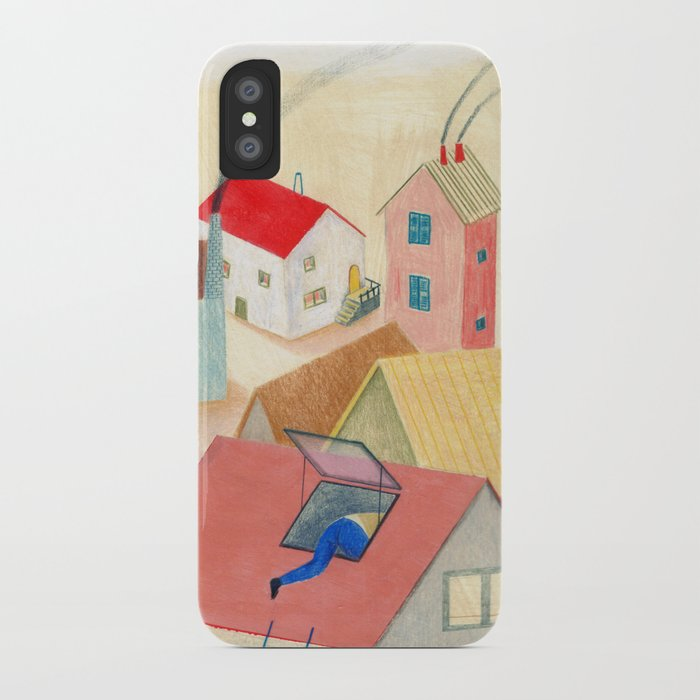 les fen tres magiques iphone case by palomamoma society6