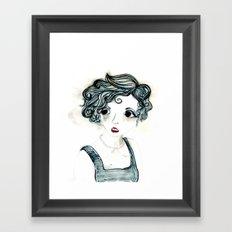 Anxiety. Framed Art Print