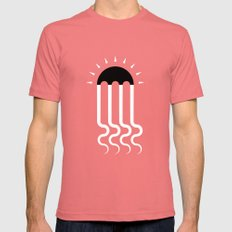 ENCOUNTER - Jelly SMALL Pomegranate Mens Fitted Tee